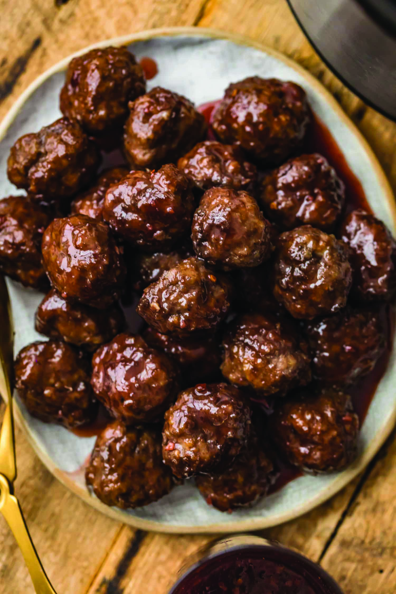 Grape Jelly Meat Balls