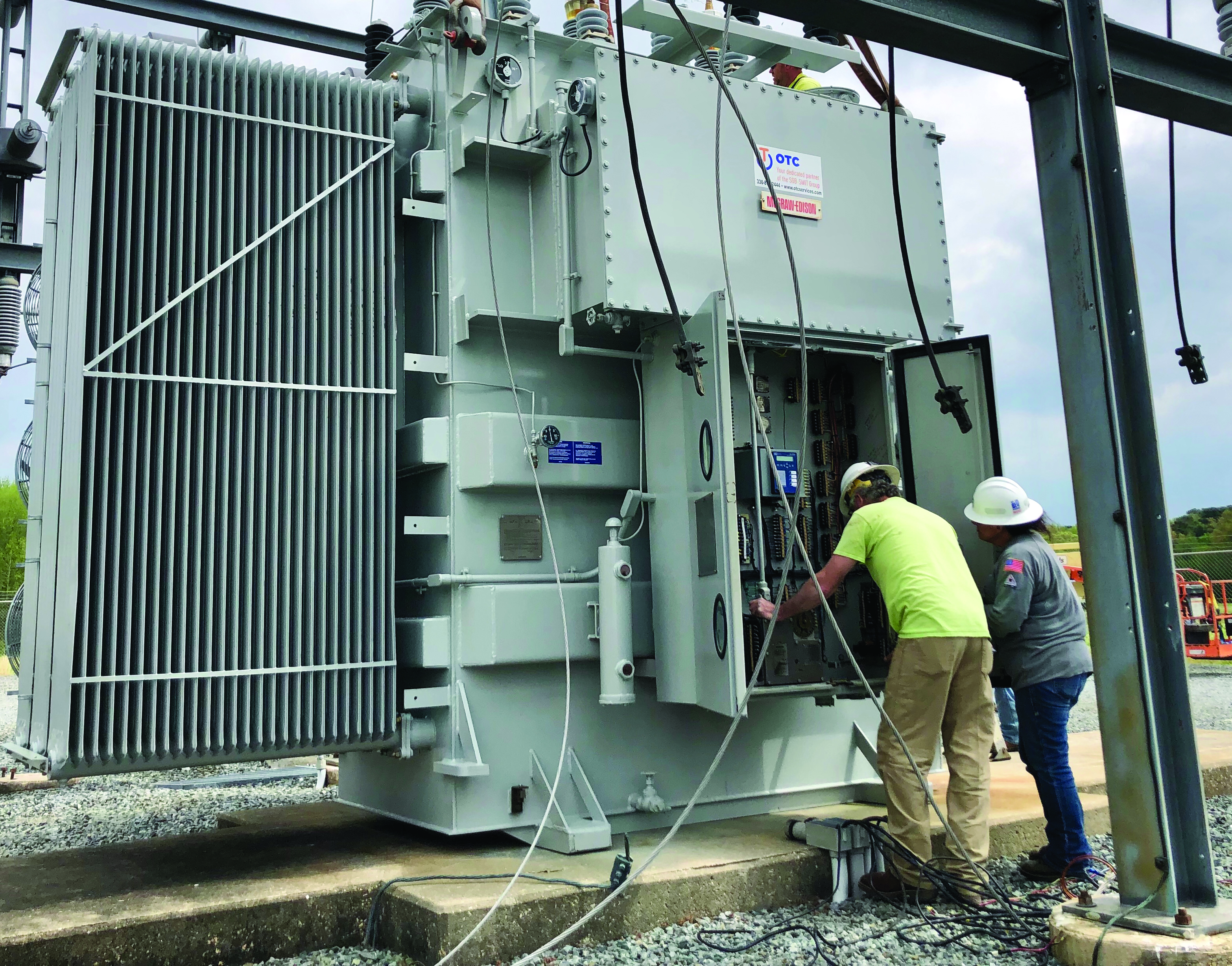 Working in a Substation