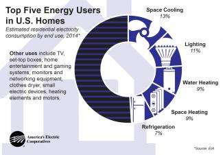 Top 5 Energy Users