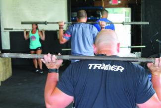 CrossFit focuses on movements that mimic everyday motions